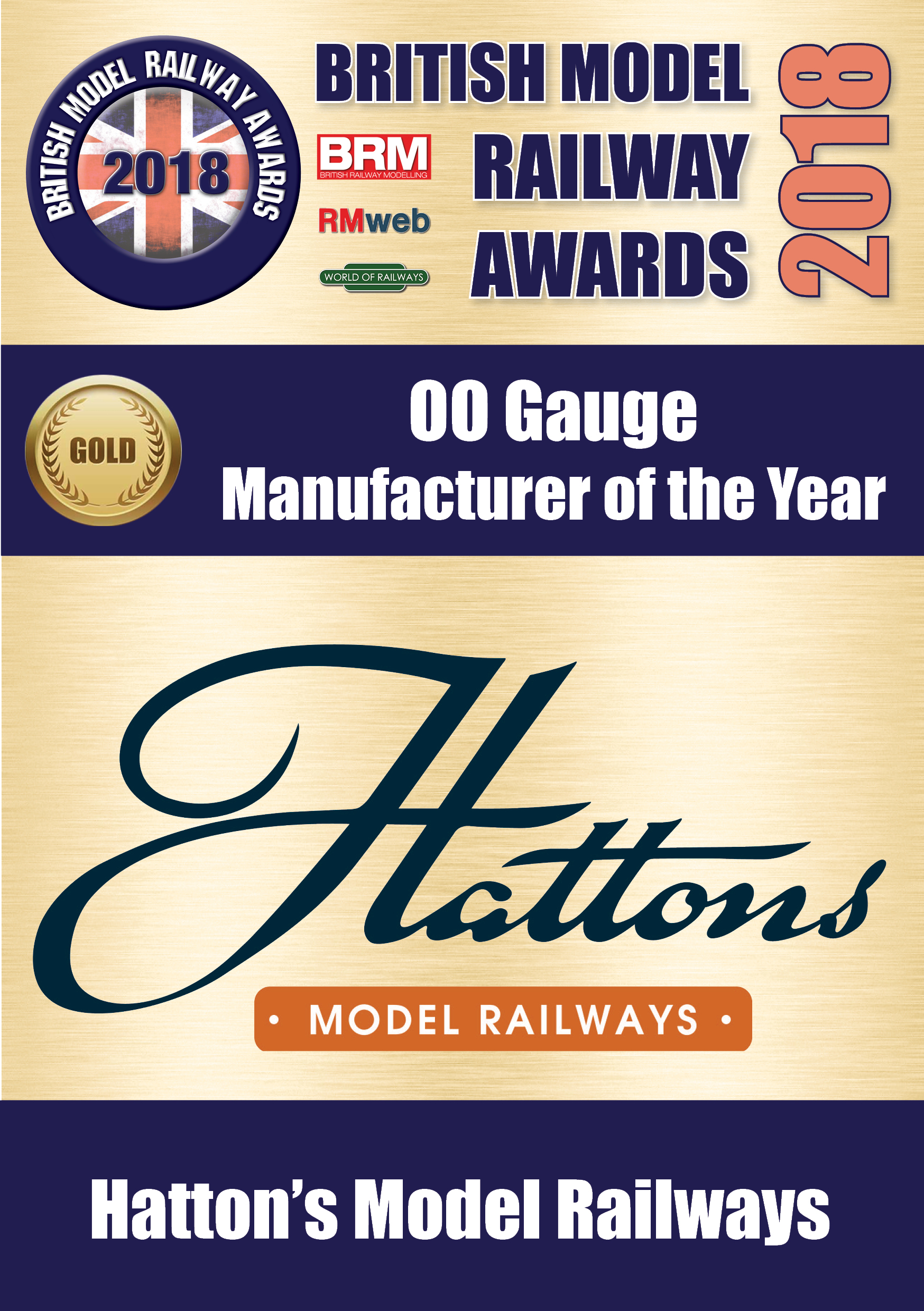 British Model Railway Awards 2018 from Hattons Model Railways
