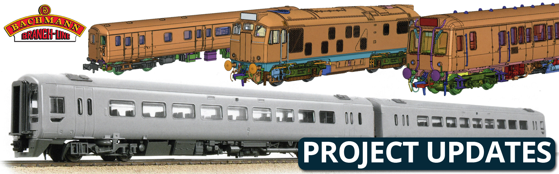 Bachmann & Graham Farish - Project Updates (June 2018) from