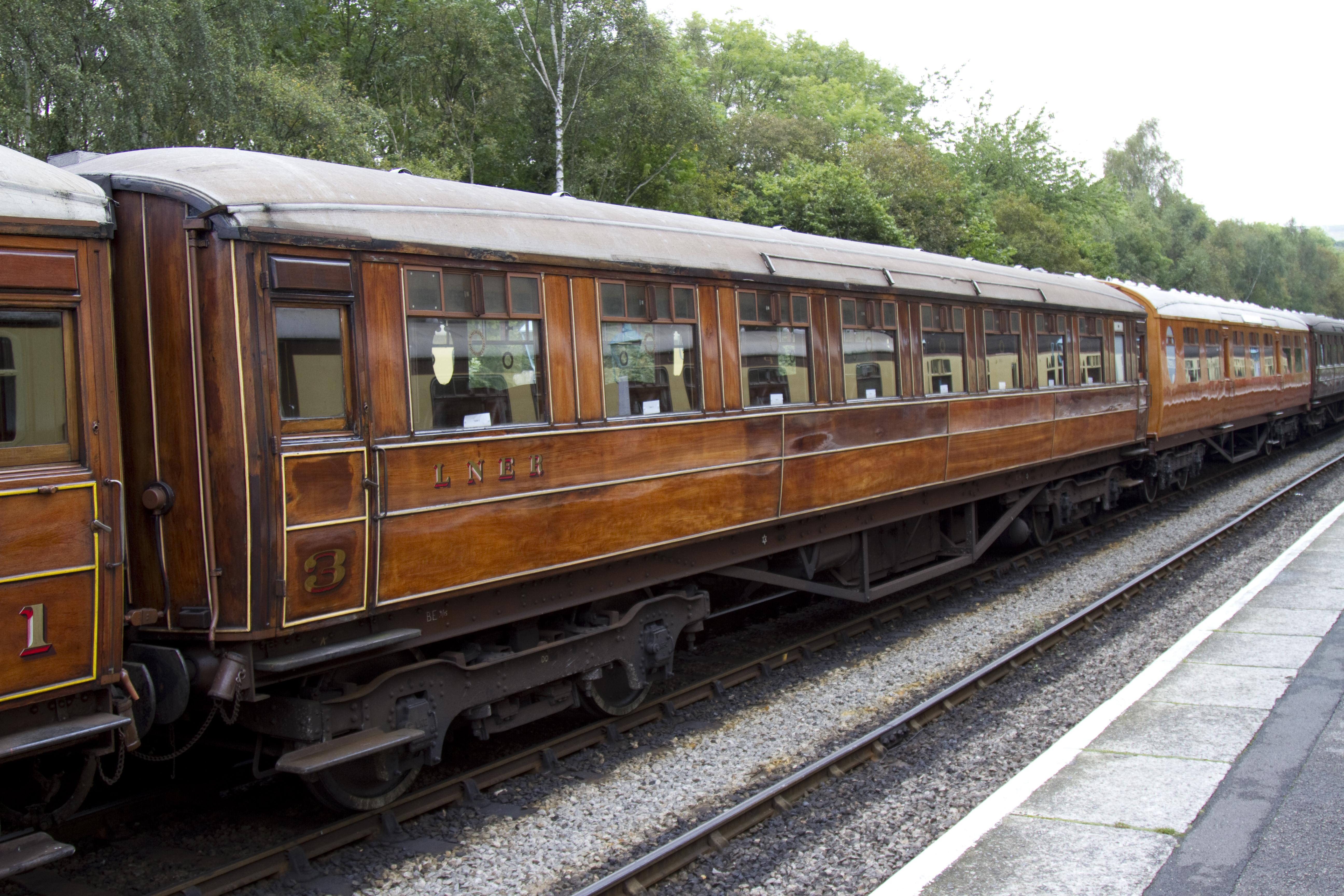 LNER teak coach