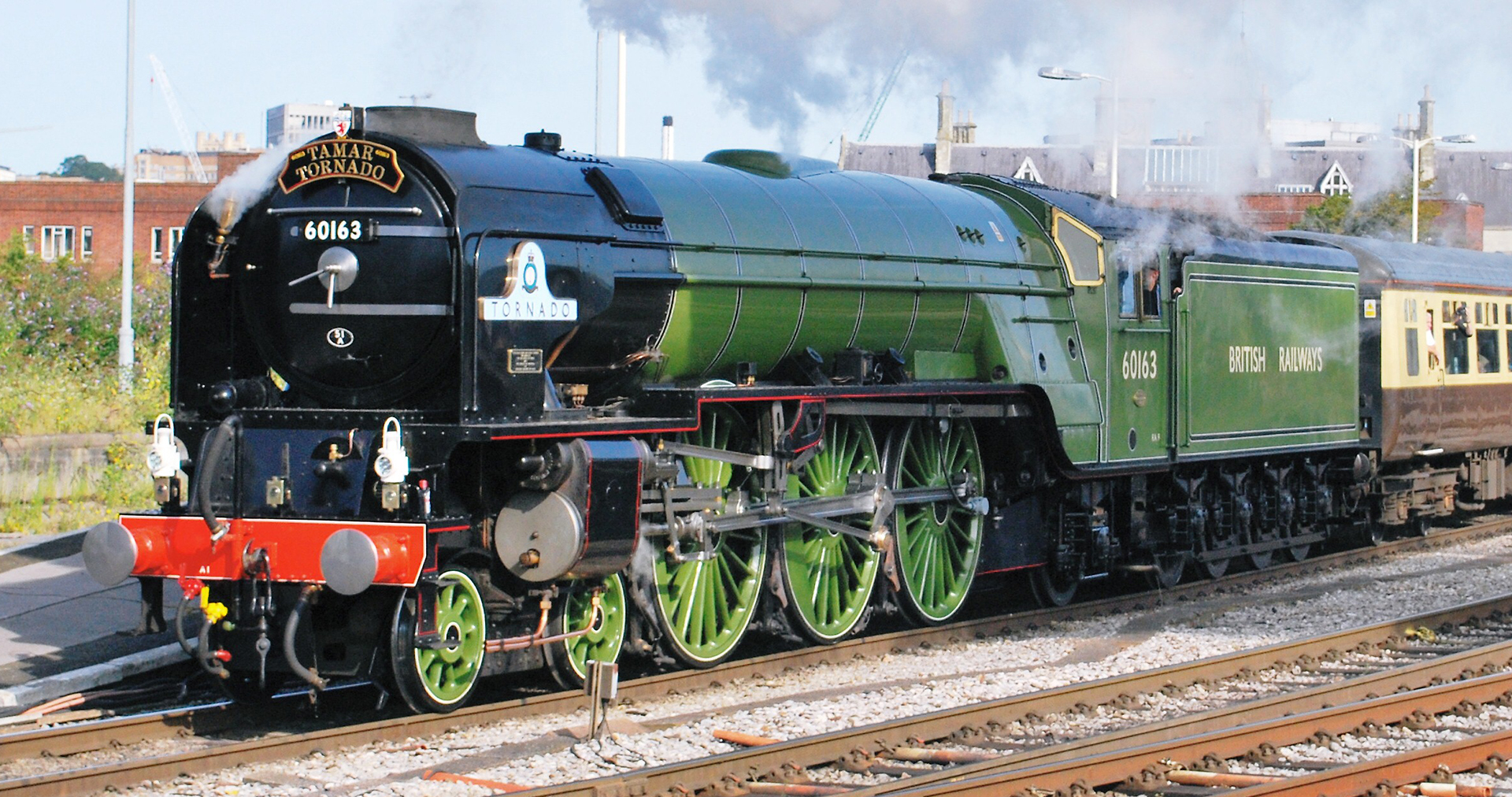 60163 at Bristol Temple Meads in August 2009. © Hugh Llewelyn