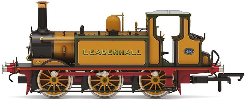 """Hornby R3811 - 48 """"Leadenhall"""" in LC&SCR improved engine green"""