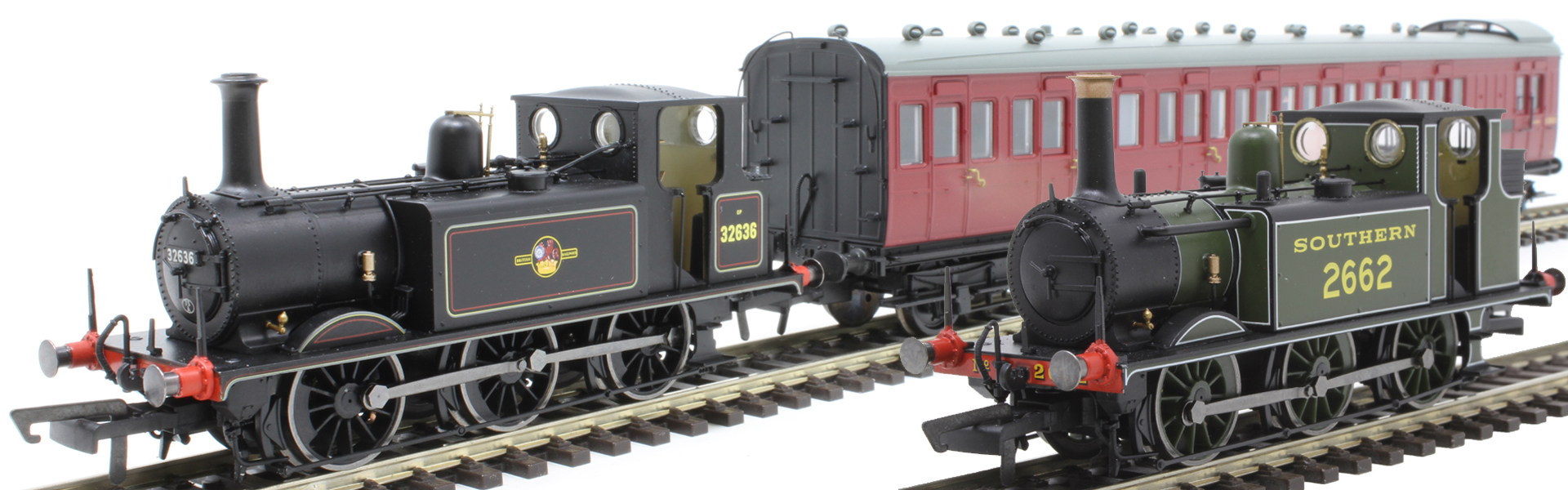 Hornby OO Gauge Class A1/ A1X Terrier 0-6-0T - Available Now
