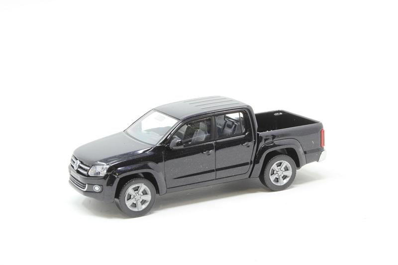 hattons co uk - Wiking 031102 VW Amarok Pickup in Black
