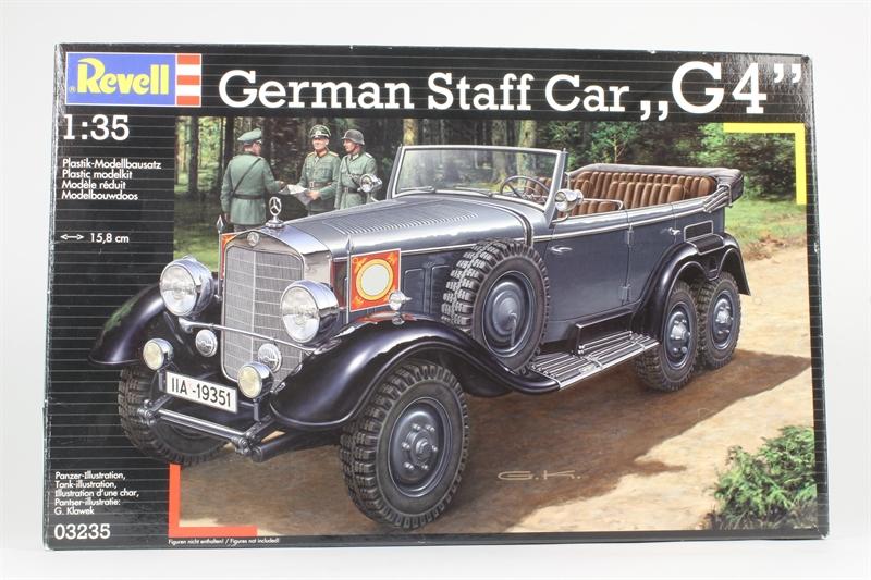 hattons co uk - Revell 03235 German Staff Car G4