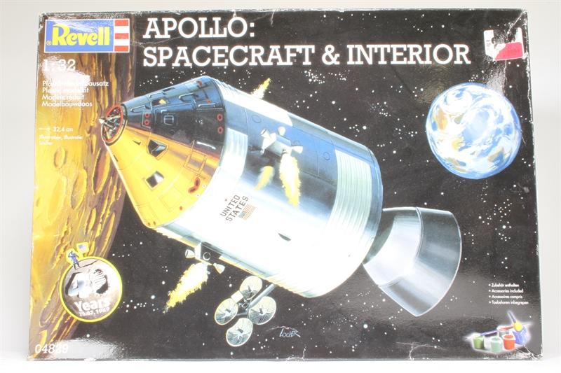 apollo spacecraft interior revell - photo #17