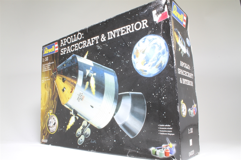 apollo spacecraft interior revell - photo #24