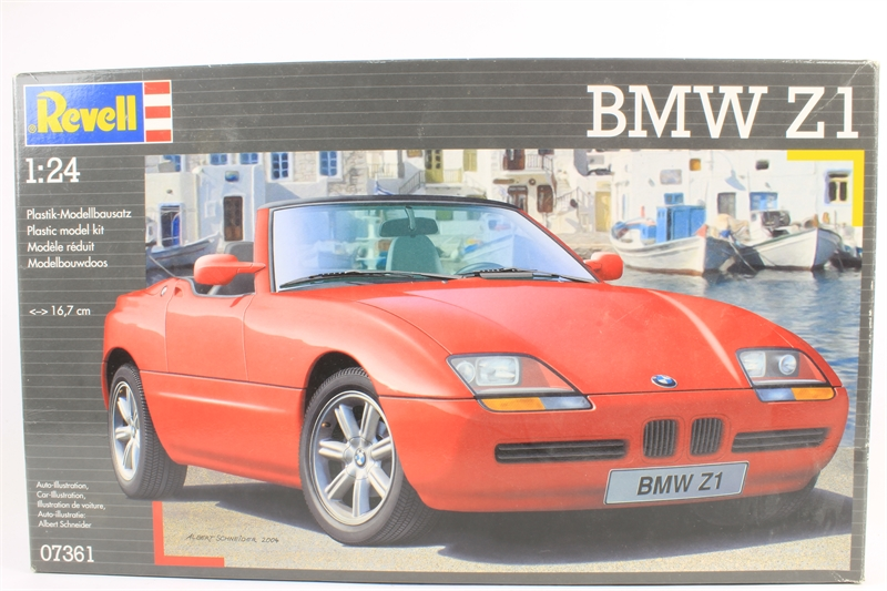 revell 07361 ln bmw z1 pre owned like new. Black Bedroom Furniture Sets. Home Design Ideas