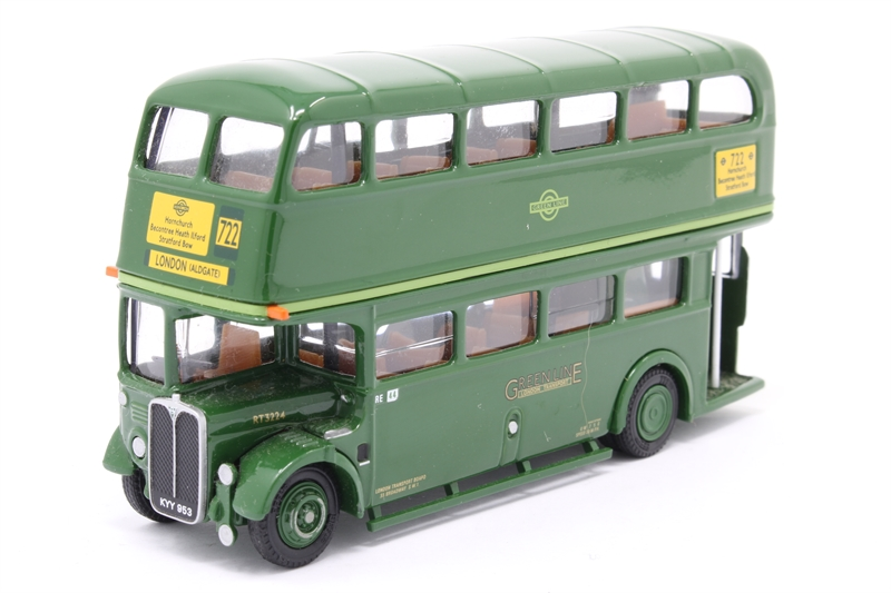 "10133-PO02 AEC RT d/deck bus ""Greenline"" - Pre-"