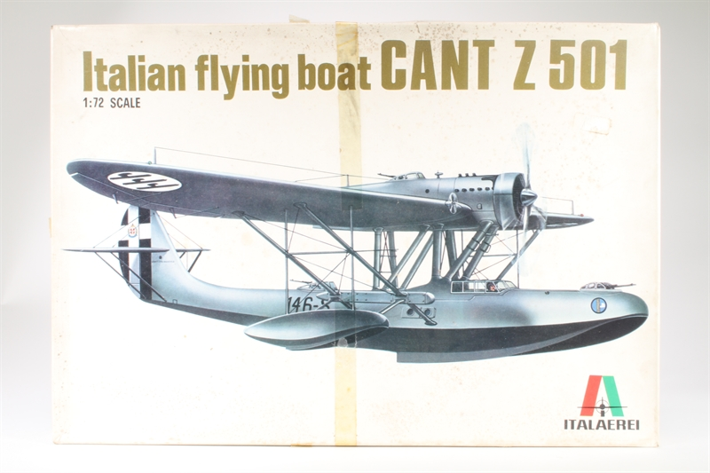 hattons co uk - Italeri 112IT-SD CANT Z 501 Flying Boat - Pre-owned
