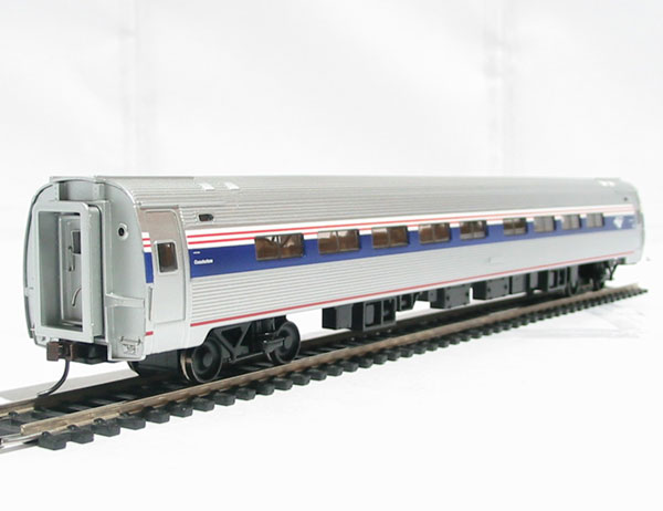 bachmann usa 13116 american 85ft amfleet i phase v amtrak coach with lights. Black Bedroom Furniture Sets. Home Design Ideas