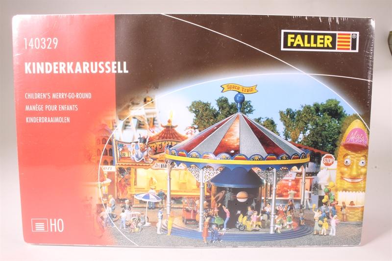 FALLER 140329 h0 enfants Carrousel