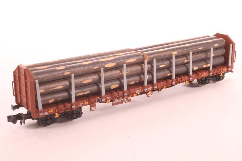 15278-01-LN Bogie Timber Wagon of the DB - Pre-owned -