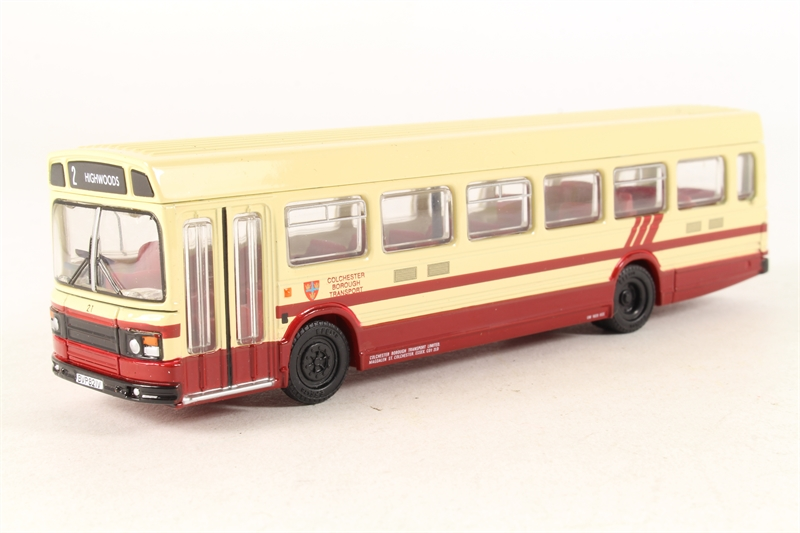 "17701-U Leyland National Mk2 long s/deck bus ""Colchester"" -"