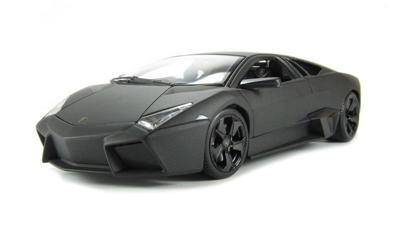 Hattons Co Uk Burago 18 11029gy Lamborghini Reventon Grey