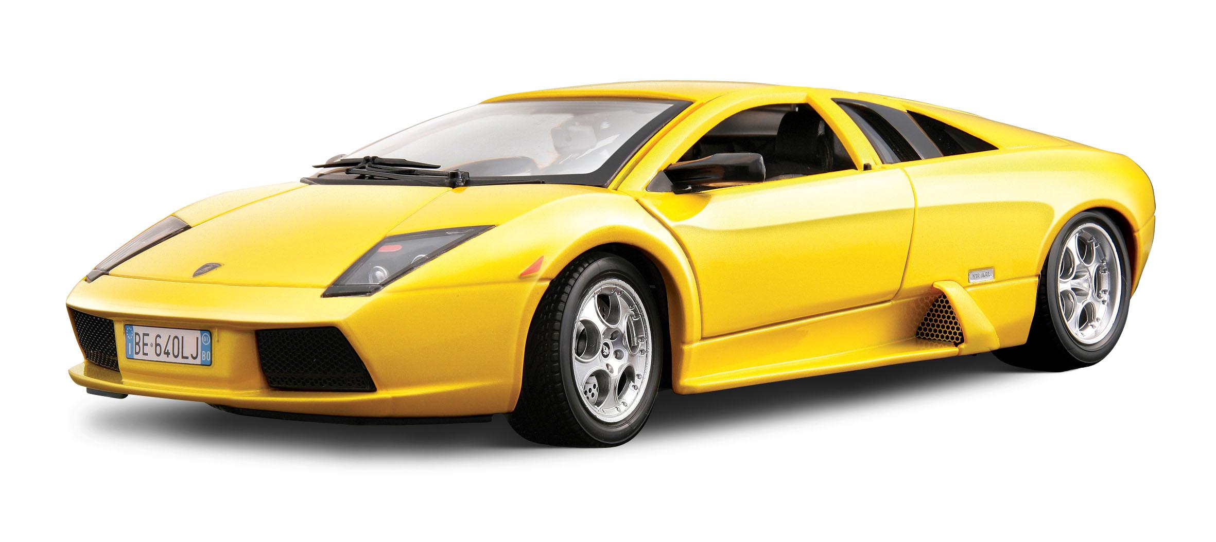 Hattons Co Uk Burago 18 12022yl Lamborghini Murcielago Yellow