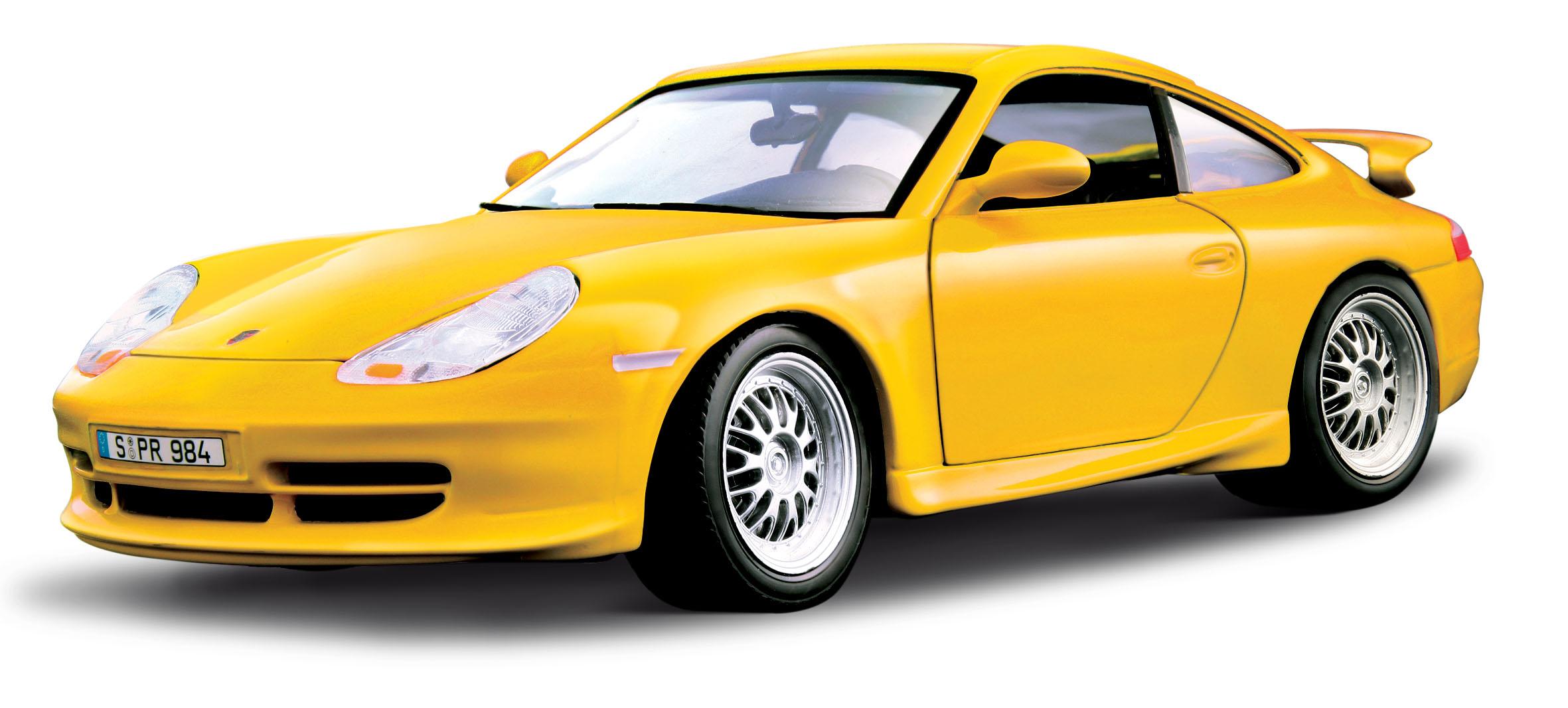 Hattons Co Uk Burago 18 12040yl Porsche Gt3 Strasse