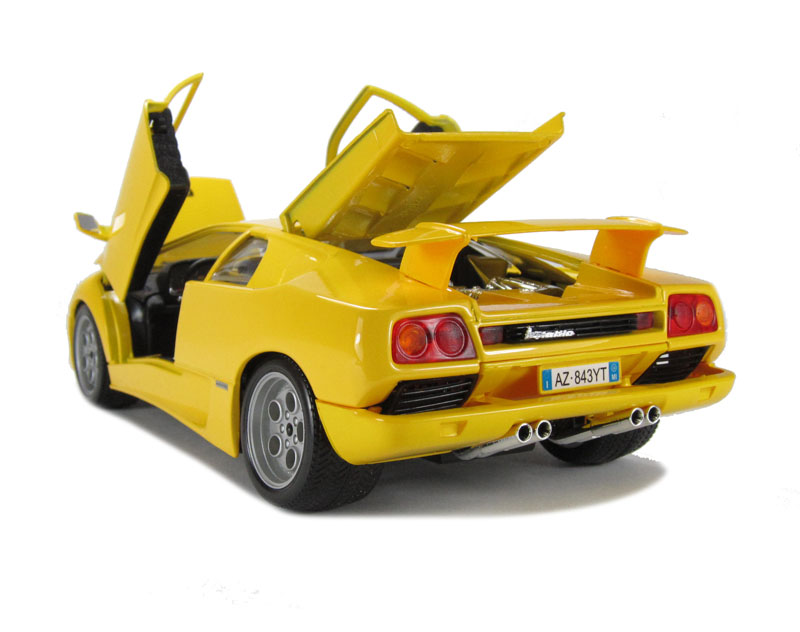 burago 18 12042yl lamborghini diablo yellow. Black Bedroom Furniture Sets. Home Design Ideas