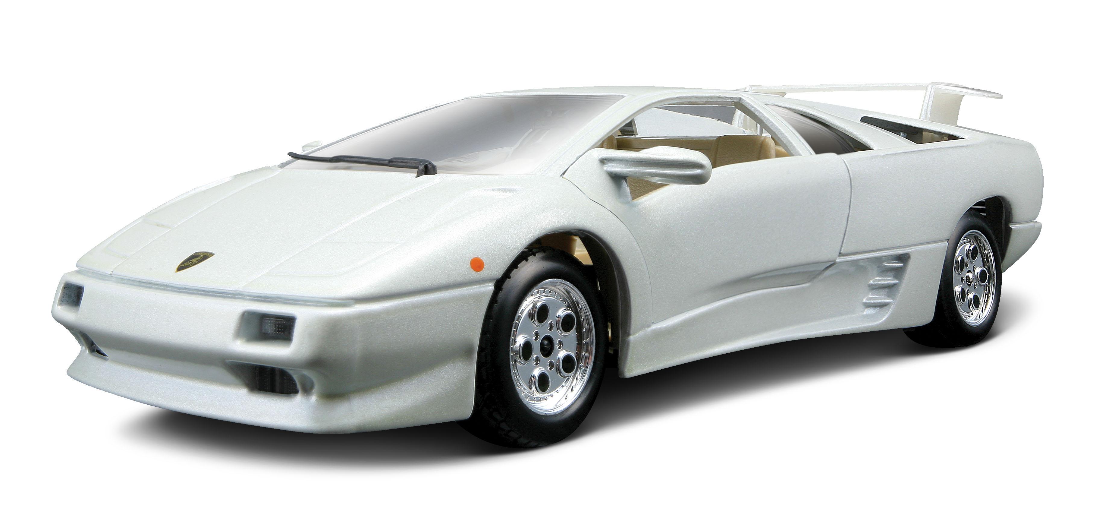 Hattons Co Uk Burago 18 22086wh Lamborghini Diablo White