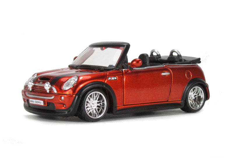 Hattonscouk Burago 18 42007or Mini Cooper S Cabriolet Orange
