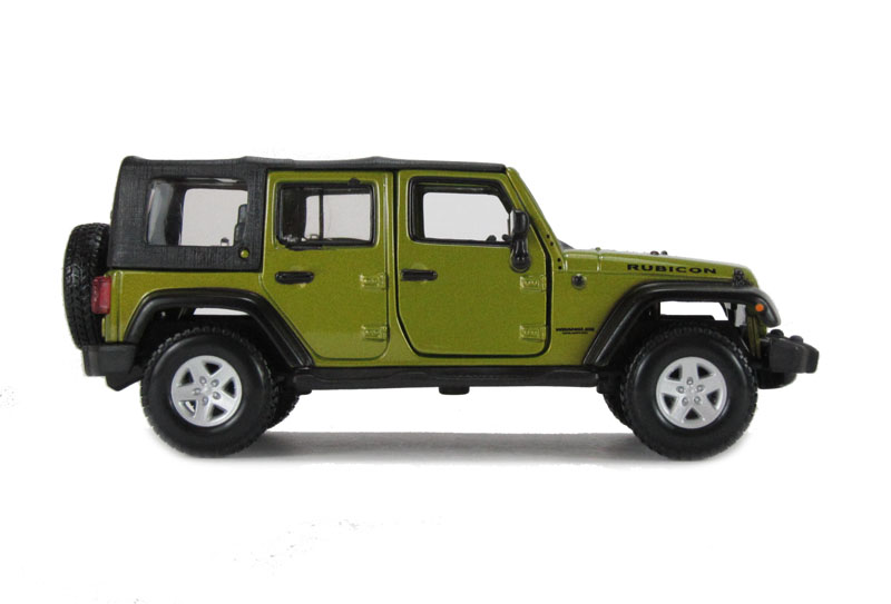 hattons.co.uk - burago 18-43012gn jeep wrangler unlimited rubicon