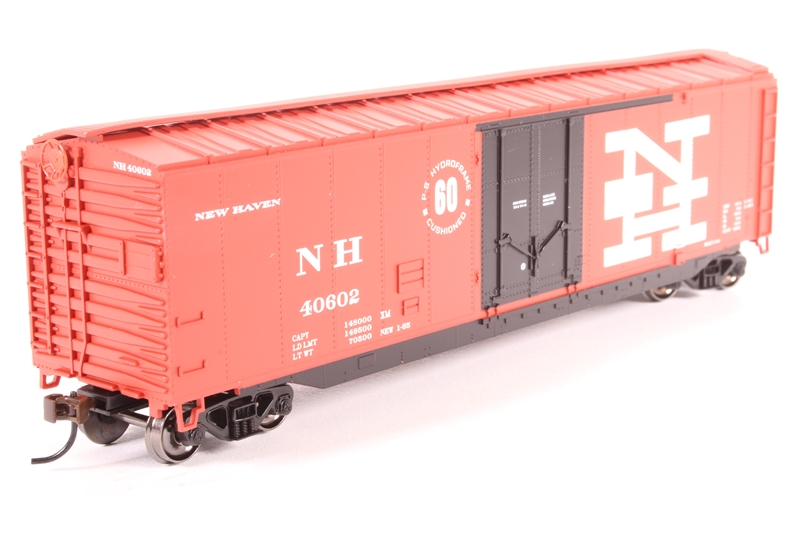 50' Plug Door Boxcar of the New Haven Railroad - Pre-owned - Like new