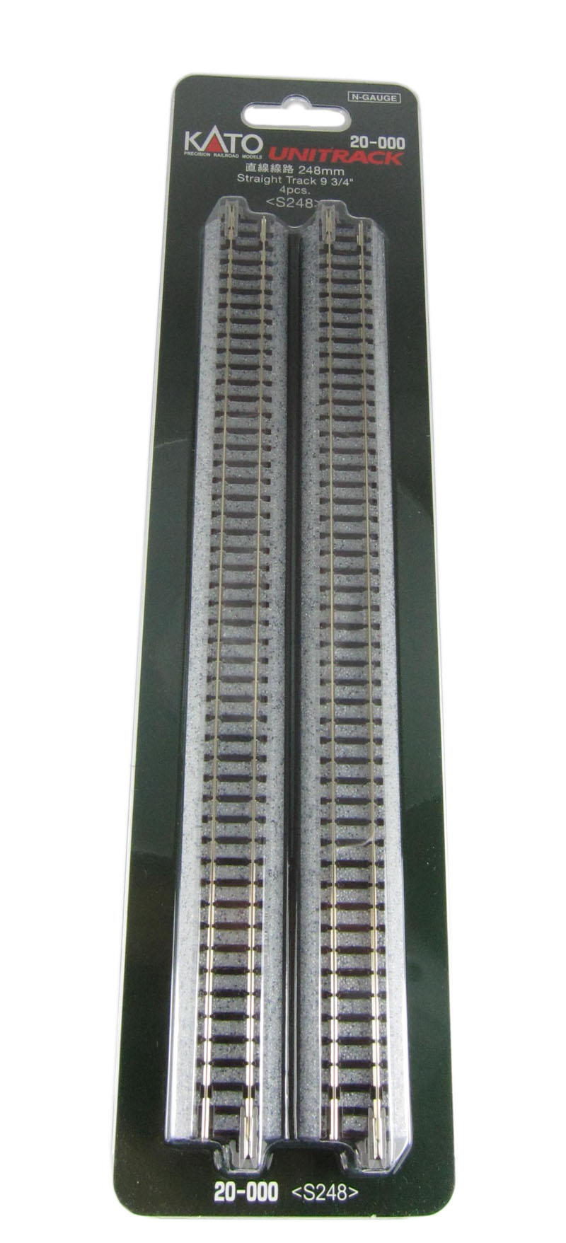 Kato N Gauge Track Points Products How To Wire A Switch Ground Level 248mm Straight X 4 8 More Than 10 In Stock