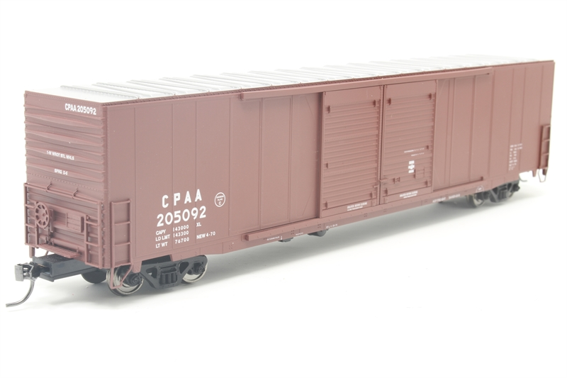 60' Double Door Auto Parts Boxcar #205080 of the Canadian Pacific Railroad