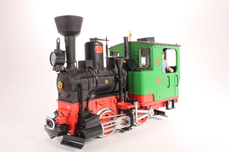 20212-LN Stainz Steam 0-4-0 in Green with DCC Sound -