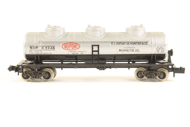 Atlas 2295 u 3 dome tank car 39 dupont for Cannon motor company preowned