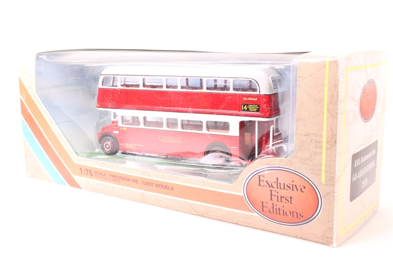 hattons co uk - EFE 25520-PO RML Routemaster Red central bus