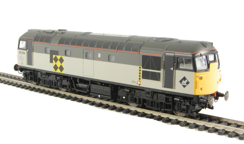 Heljan Class 26 Coal Sector and Railfreight Red Stripe