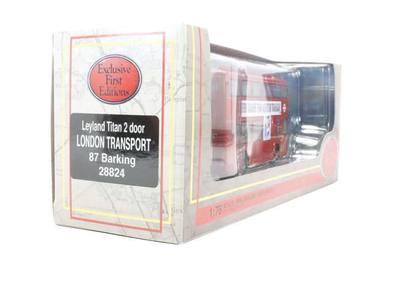 Efe 28824 leyland titan 2 door london for Door to door transport