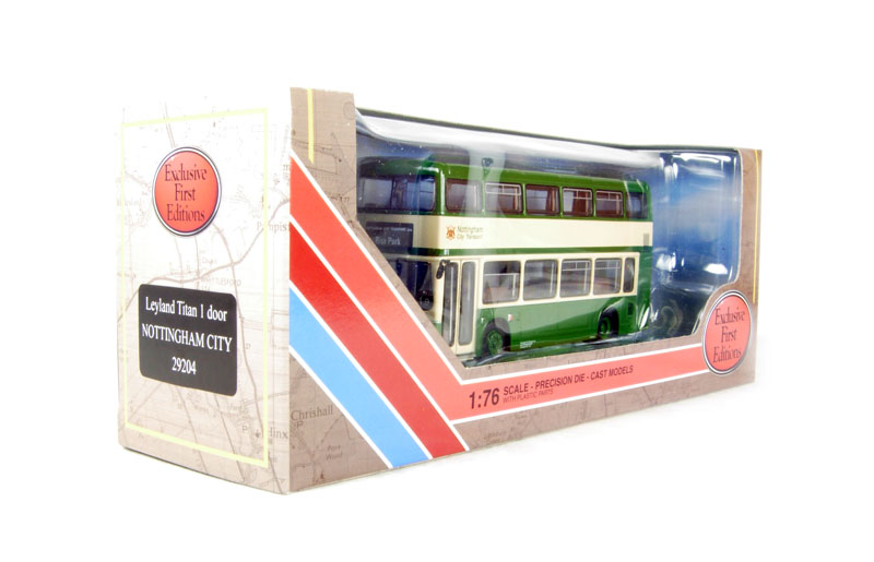 Efe 29204 leyland titan 1 door d deck bus for Door to door transport