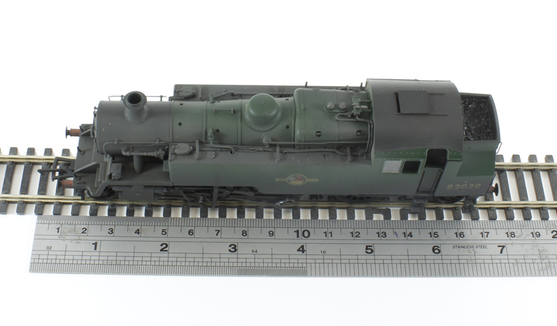 Standard Class 3MT 2-6-2T 82020 in BR green with late crest - weathered