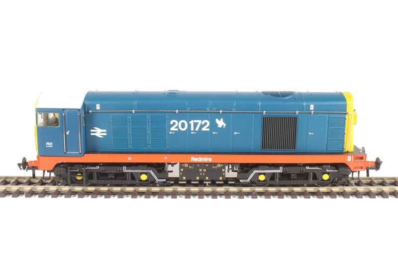 32-035K Class 20 20172 'Redmire' in BR Blue with Thornaby red stripe