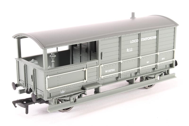 0c30bd897e hattons.co.uk - Bachmann Branchline 33-301Q-LN 20 Ton Toad Brake Van ...