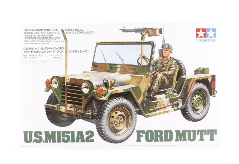 tamiya 35123 ford mutt m151 a2. Black Bedroom Furniture Sets. Home Design Ideas
