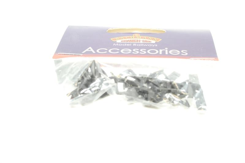 Bachmann 36-026 OO Gauge Mini Loop Screw-On Coupling Long Pack 10
