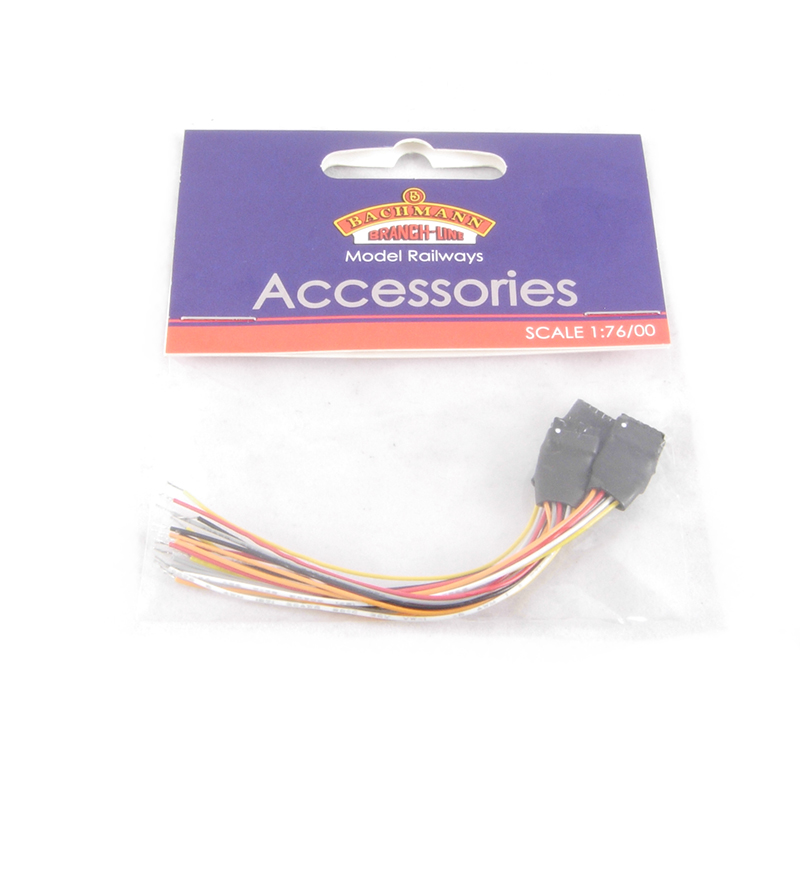 hattons co uk bachmann branchline 36 562 6 pin decoder socket 36 562 6 pin decoder socket wiring harness x 3 £7 61