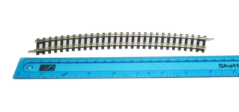 3rd Radius Track Arc 22.5* OO Gauge Hornby R608 Single Curve