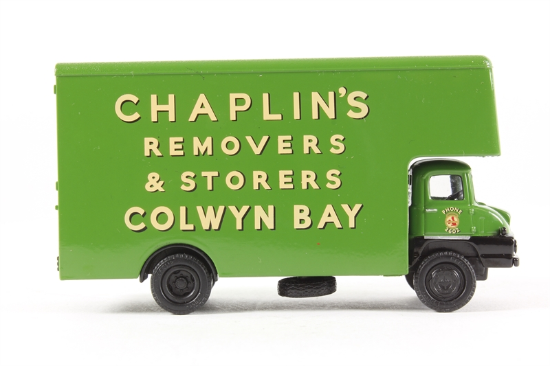Chaplins Removals EFE 36101 Trader Luton Box Van
