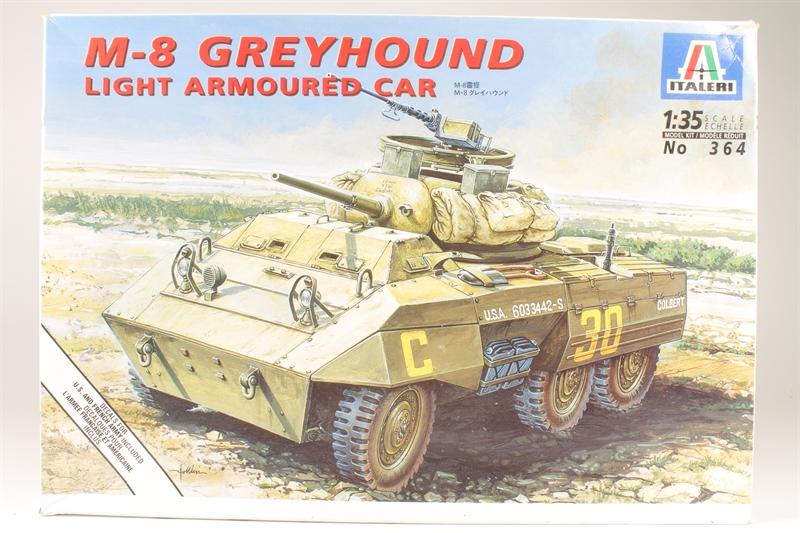 hattons co uk - Italeri 364IT-U M8 Greyhound - Pre-owned