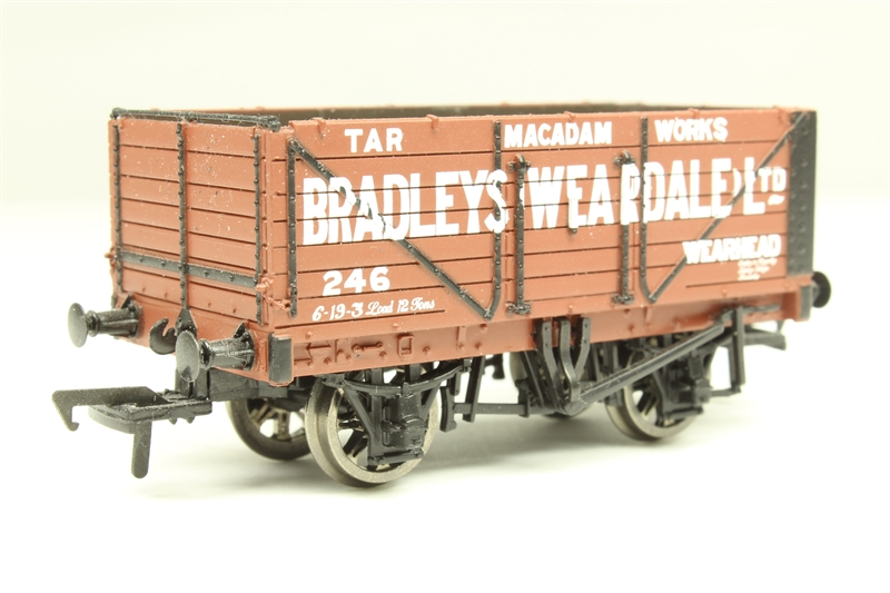 BACHMANN 37-083 7 PLANK END DOOR WAGON /'WEARDALE/'
