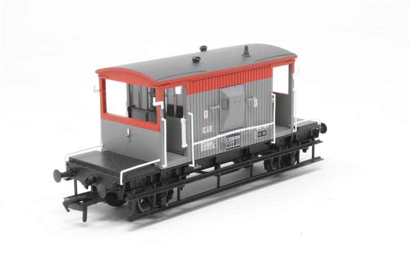 Bachmann 37-535C OO Gauge BR Railfreight 20t Brake Van