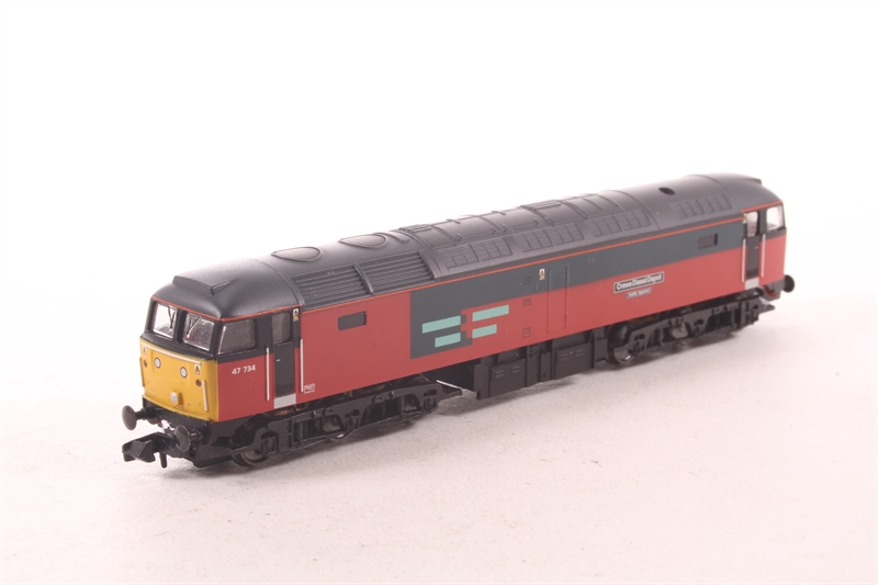 370-125loco-SAS Class 47 47734 in RES livery split from 370-125