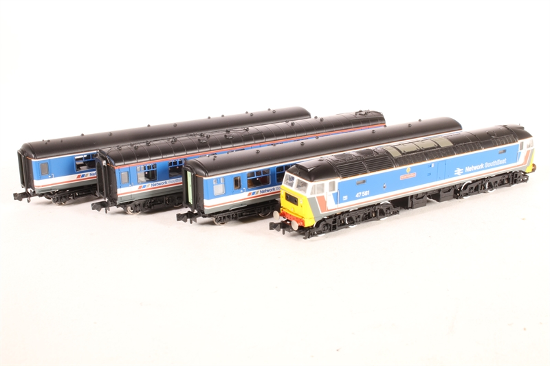 Graham Farish 370-430 Capital Connection Network SouthEast Train Pack N Gauge
