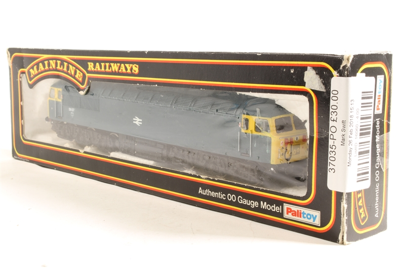hattons co uk - Mainline 37035-PO Class 56 56079 in BR Blue