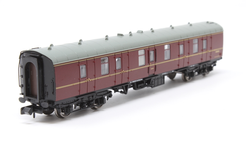 374-036B Graham Farish N Gauge BR Mk1 BG Full Brake Maroon