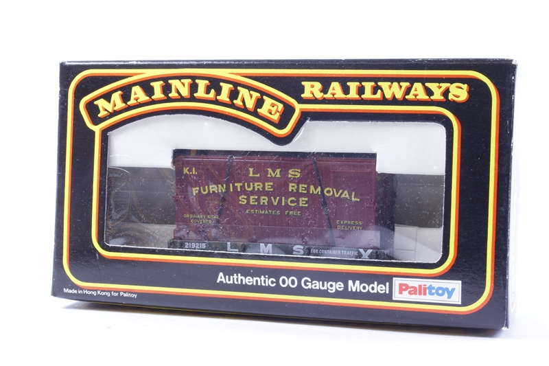 Hattonscouk Mainline 48LN48 48 Plank Wagon In LMS Livery Cool Furniture Removal Services Model