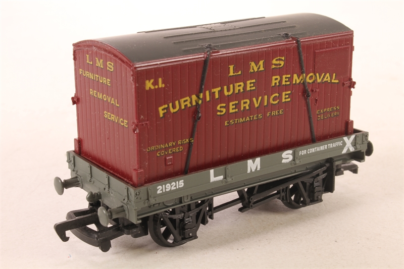 Hattonscouk Mainline 48LN48 48 Plank Wagon In LMS Livery With Simple Furniture Removal Services Model